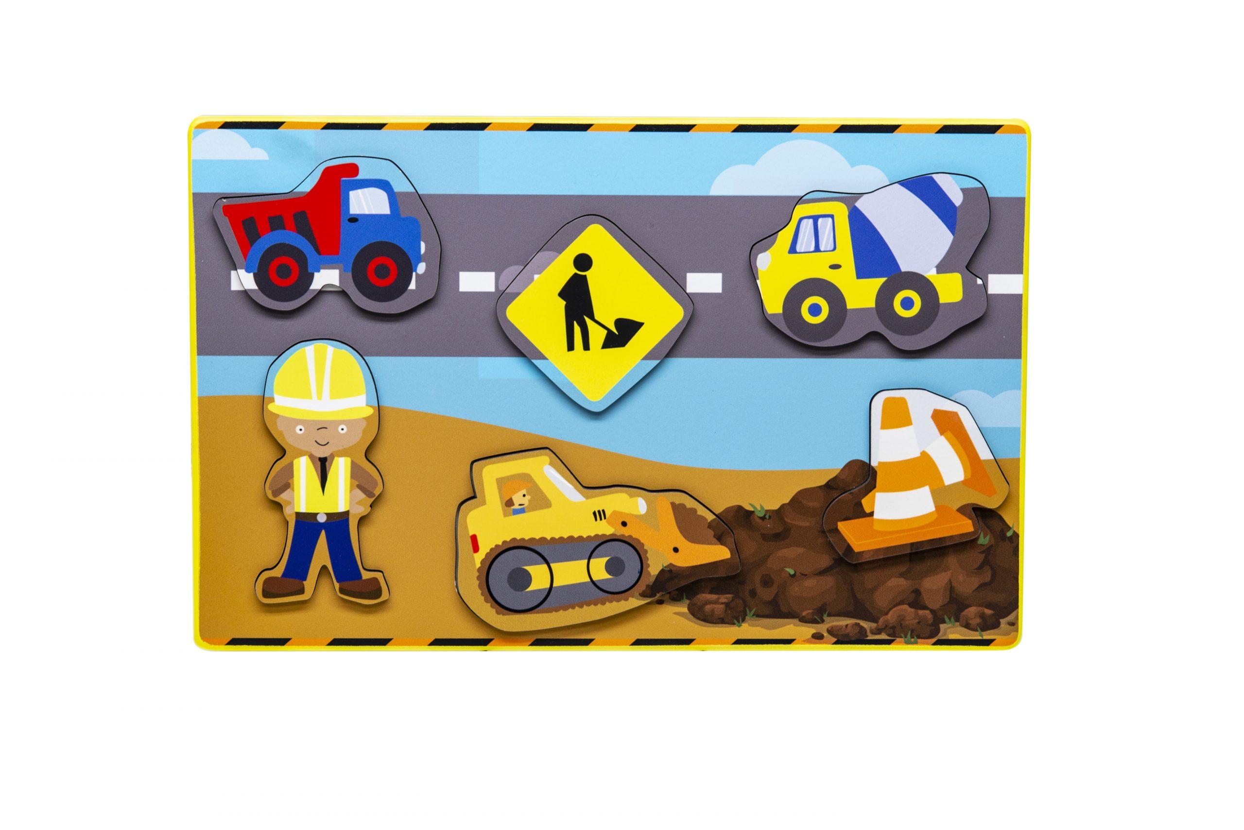 Construction Site Imagination Puzzle