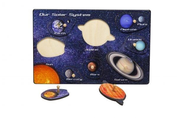 Solar System Imagination Peg Puzzle