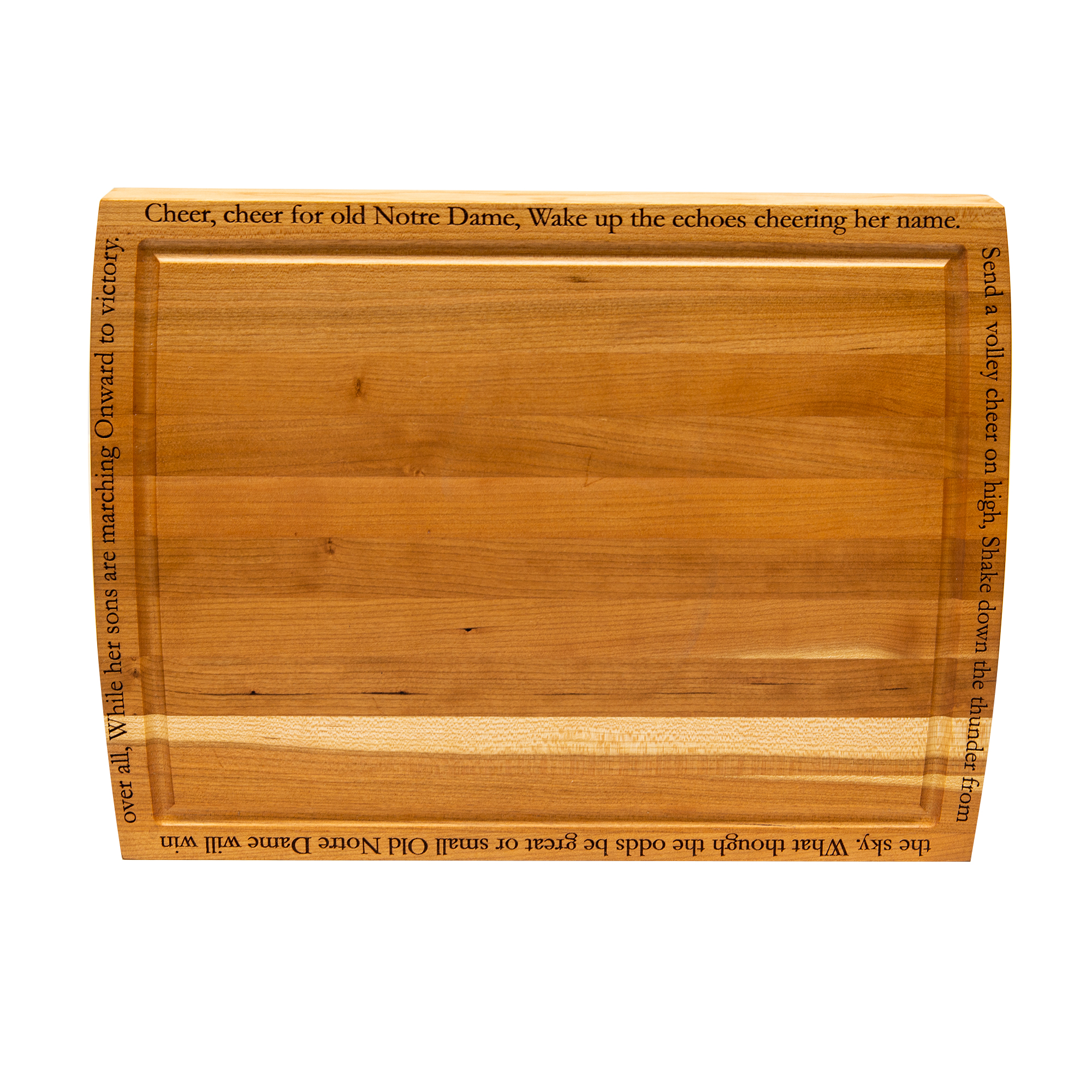 University of Notre Dame Fight Song Cutting Board
