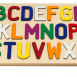 Alphabet Puzzle with a Primary Letter Mix