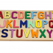 Alphabet Puzzle with a Primary & Pastel Letter Mix