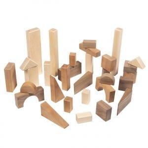 Hardwood Block Set