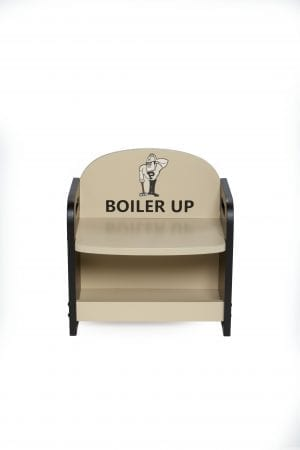 "Purdue University ""Boiler Up"" Bench"