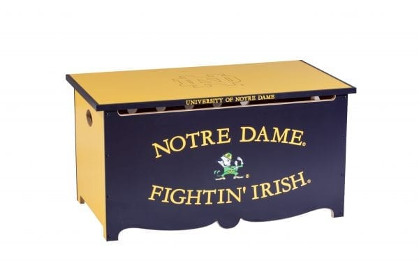 Notre Dame Wooden Toy Chest