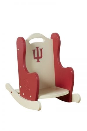 Indiana University Kids Wooden Rocking Chair