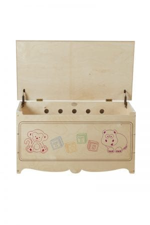 Kids Wood Toy Chest