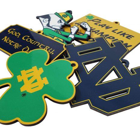 Notre Dame 5 piece Ornament Collection