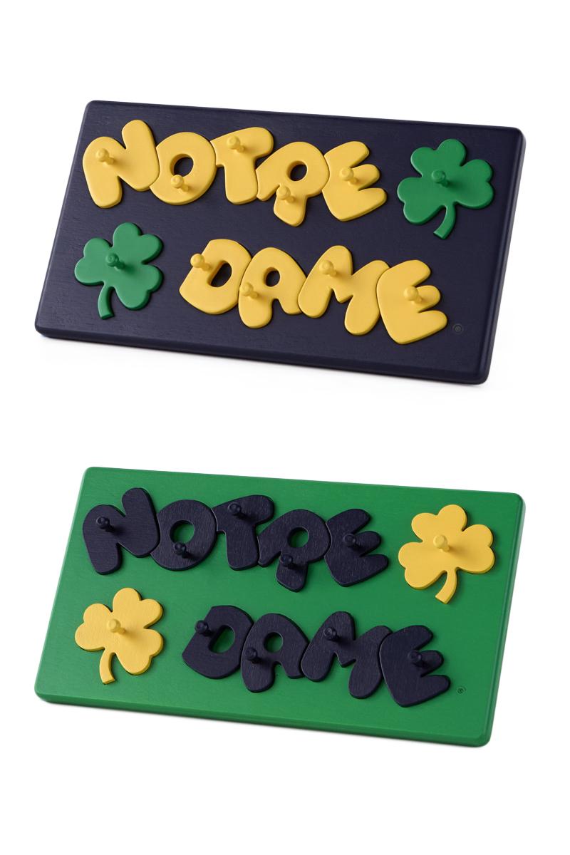 Notre Dame Collegiate Peg Puzzles