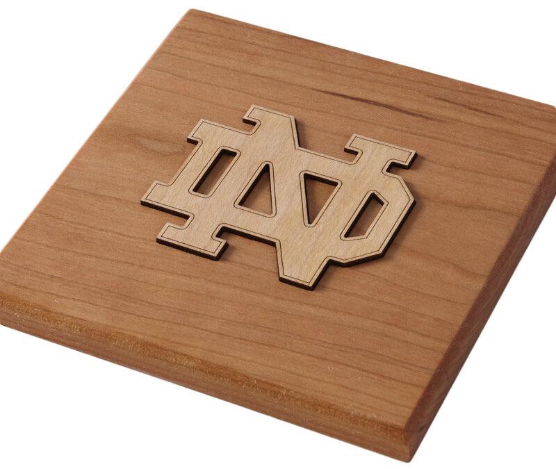 Notre Dame Monogram Desktop Plaque