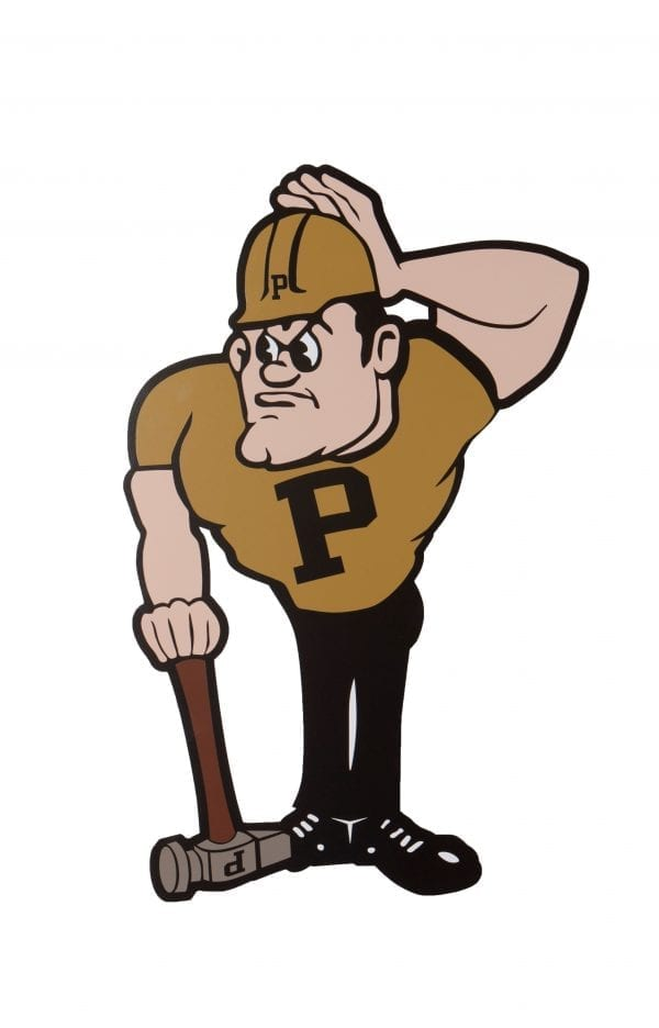 Purdue Pete Wall Hanging