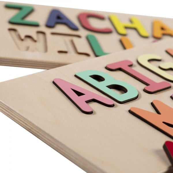 Personalized Wooden Two Name Puzzle