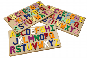 Wooden Alphabet Puzzles