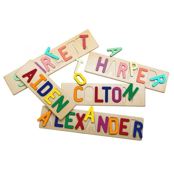 Personalized Wooden Name Puzzles