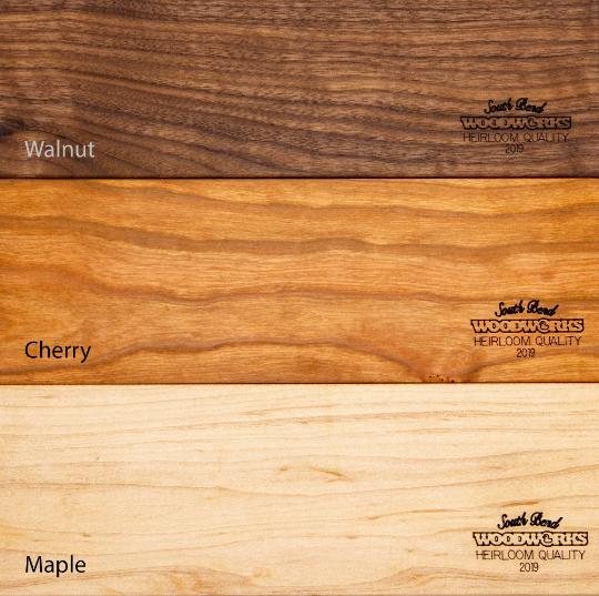 Walnut Hardwood, Cherry Hardwood, Maple Hardwood