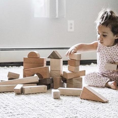 Baby and Block Set